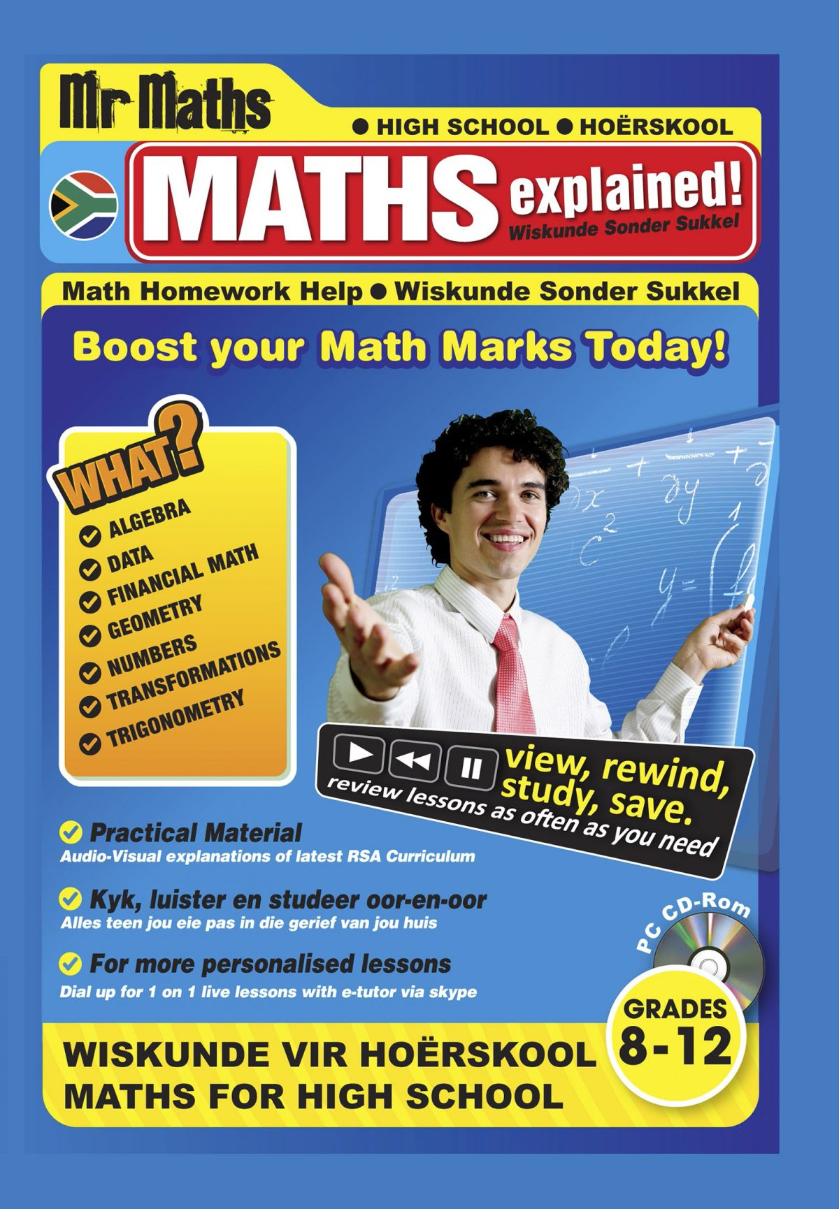 Mr Maths Grd 6 -12 Video lessons
